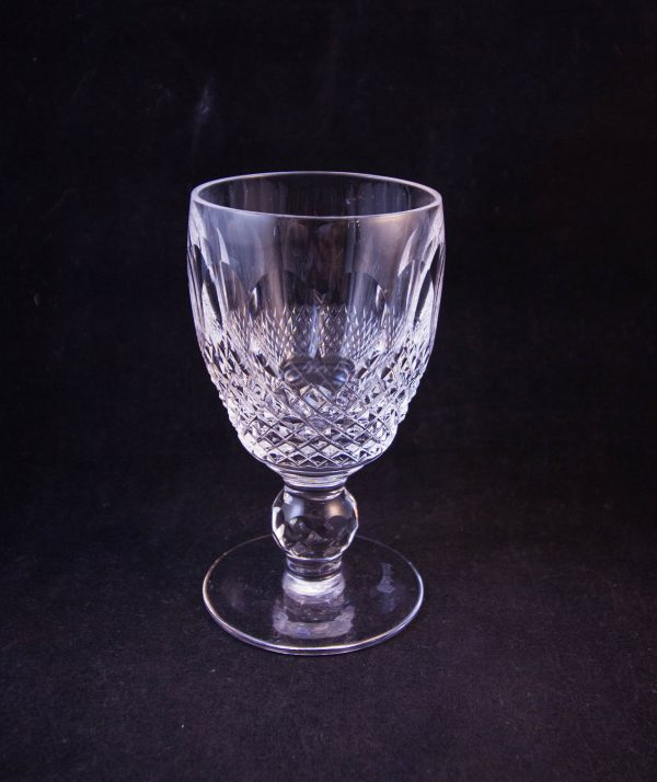waterford crystal colleen cut glass port glasses