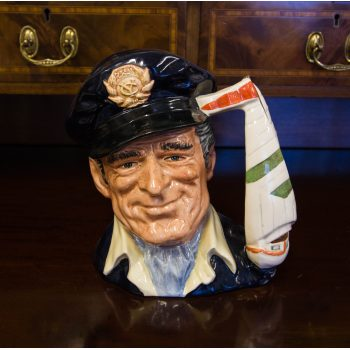 "Royal Doulton Yachtsman toby jug. Measures 6.5""H"
