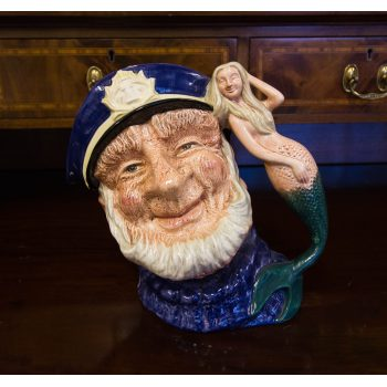 "Royal Doulton Old Salt toby jug. Measures 7.5""H"