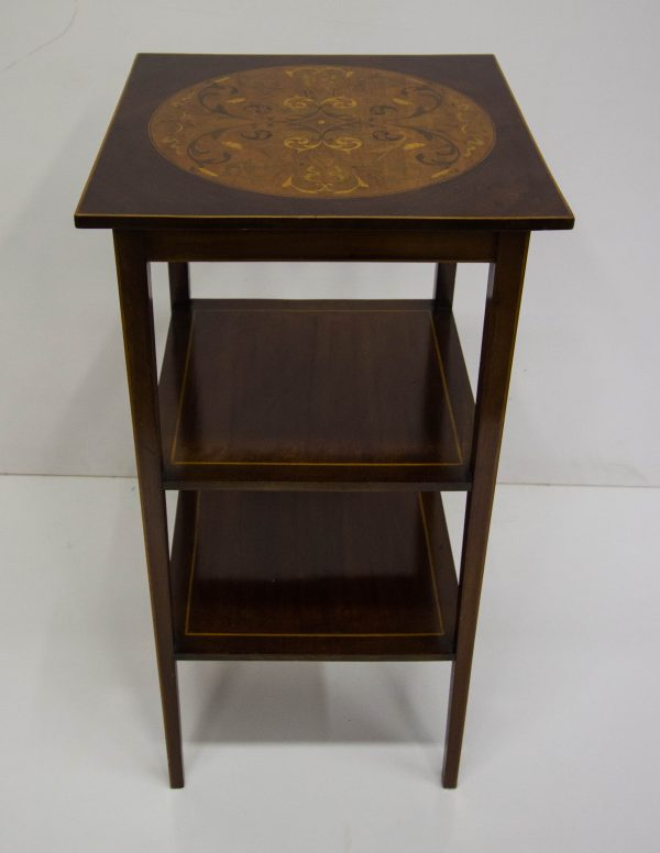 inlaid occasional table