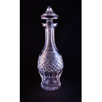 "Waterford Crystal Colleen pattern cut glass decanter. Measures 13.5""H"