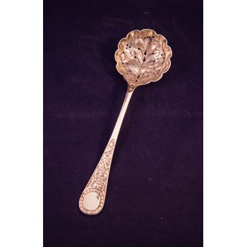 silver sifter spoon