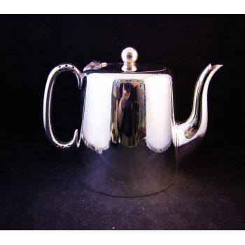 "Hotelware silver plated tea pot. Measures 8""L x 4.75""W x 6.5""H, holds 1.5 pints. Price includes nationwide delivery"