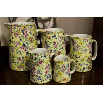 set of graduated jugs