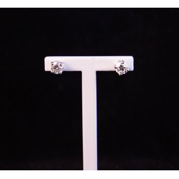 18k white gold and diamond stud earrings. Each stud contains .25ct of diamond. Price includes nationwide delivery