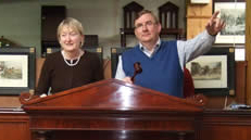 Rody and Anne Keighery at auction